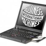 IBM Thinkpad T42 mit altem IBM-Logo