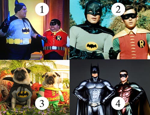 Batman and Robin FAKE