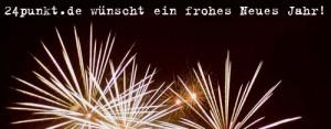 24punkt.de wünscht allen Lesern ein Frohes Neues Jahr!