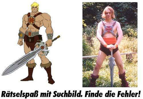 He-Man Suchbild - Finde die Fehler!