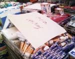 Einkaufen bei Aldi Nord
