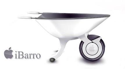 iBarro - Die Apple Schubkarre