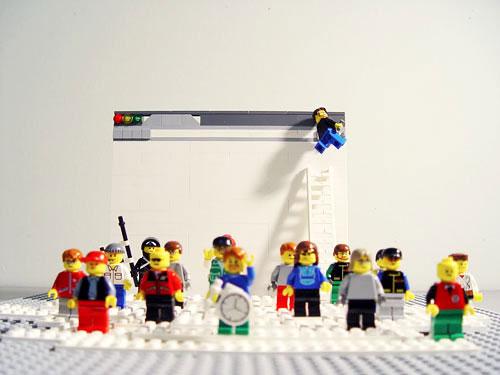 Google Chrome Entwickler als LEGO Figuren