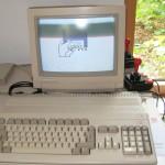 Amiga 500 mit Monitor