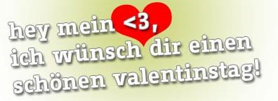 Für mein Herz zum Valentinstag! Ich liebe Dich!