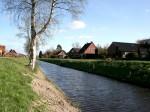 Gemeinde Moormerland - Ortschaft Jheringsfehn - Altebeek Kanalansicht
