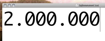 2 Millionen Besucher auf 24punkt.de