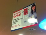 Wlan im Multimarkt - Werbeplakat