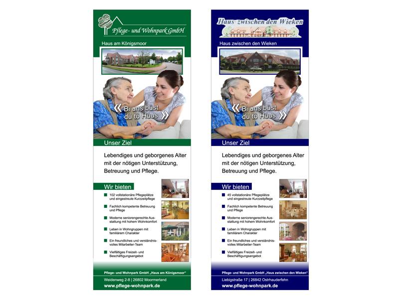 Rollup - Pflege und Wohnpark