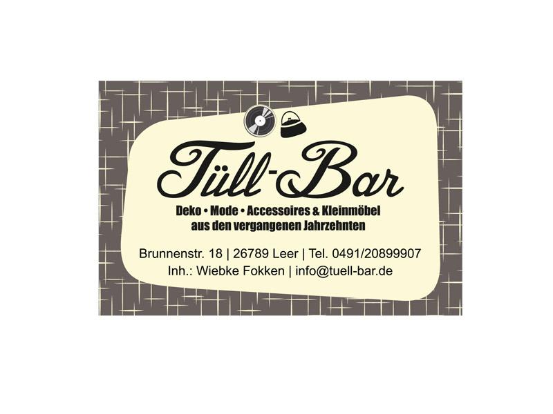 Tüll Bar Visitenkarte