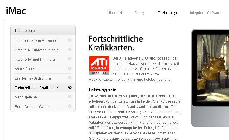 Fehler bei Apple.de