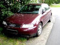 Letzter Blick auf den Audi A3 8L