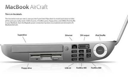MacBook AirCraft - Da fehlt einem nichts!