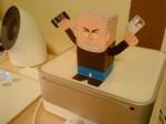 papercraft steve jobs mac fun