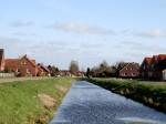 Gemeinde Moormerland - Ortschaft Jheringsfehn - Altebeek Kanalansicht 2