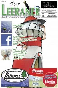 Der Leeraner - Titelseite Januar 2013